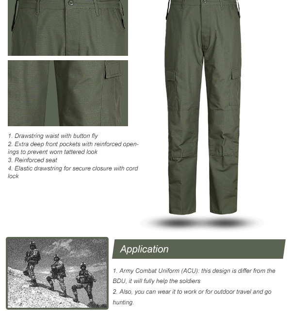 Olive Green Military Fabric Accessories Khaki French Desert Digital Army Uniform