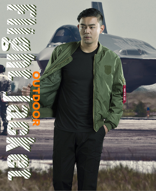 Olive Green Softshell Military Jacket , Police Tactical