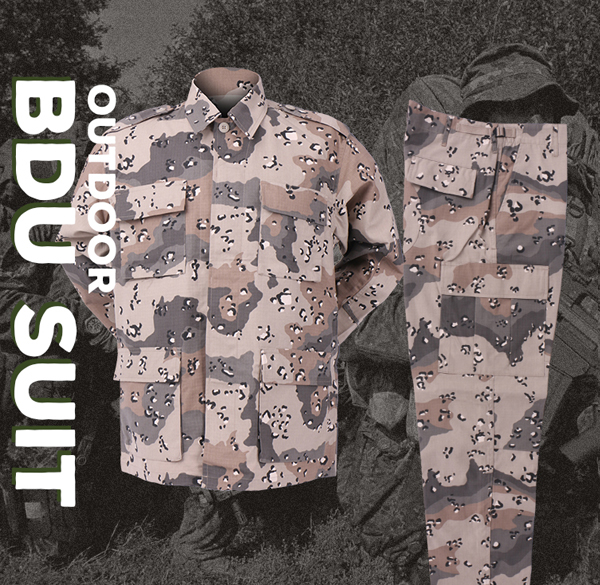 Digital Camouflage Military Combat Uniform Military Custom Made Design Your Own Bdu Uniform