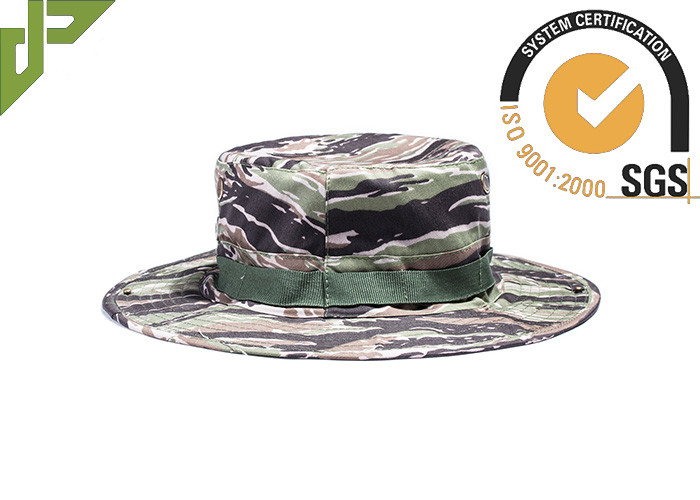 8d371845847fa Army Woodland Camo Boonie Hat With String