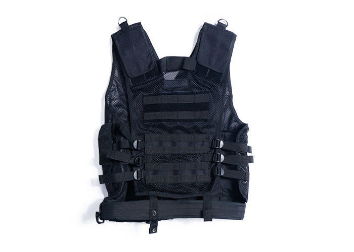 Lightweight Load Bearing Military Tactical Vest , Molle Tactical Plate Carrier Vest