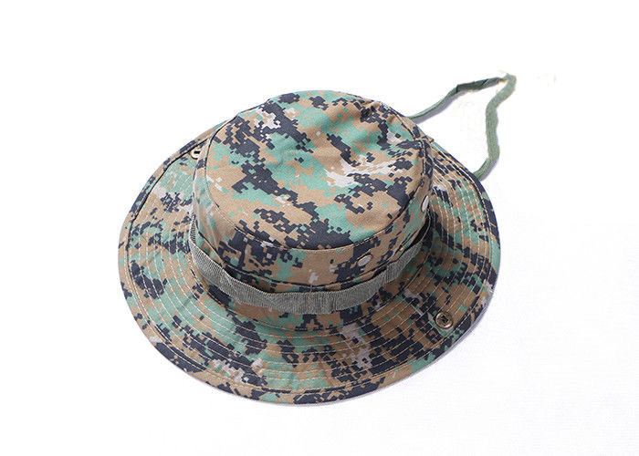 Army Tactical Cap Boonie Digital Woodland Sunprotective Military Forces