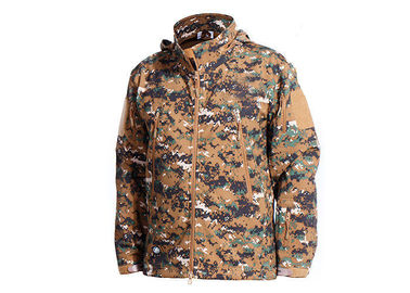 China Woodalnd Tactical Camo Jacket Cold - Proof For Outdoor Fishing Military Style factory