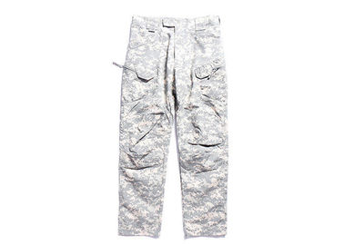 China Lightweight Men's Acu Combat Pants / Cargo Pants Military Style For All Season factory