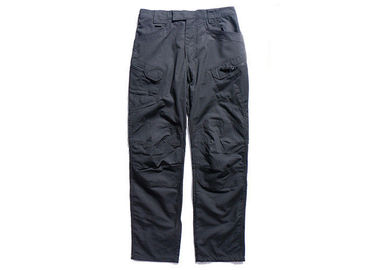 China Law Enforcement Black Military Pants Rubbing Resistance For All Season factory