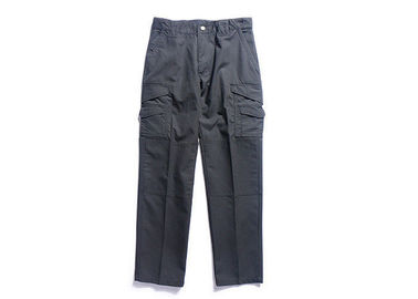 China Black Tactical Cargo Pants With Reinforced Knee , Military Lightweight Cargo Trousers factory