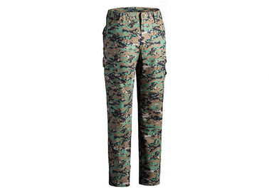 China Multicam Military Grade Cargo Pants / Camouflage Woodland Tactical Pants For Hunting factory