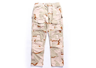 China 3 Color Desert Military Tactical Pants with Stereo Pocket For Outdoor Traning distributor