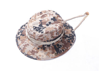 China Boonie Army Tactical Cap Desert Camo , Multicam Navy Camo Bucket Hat Breathable factory