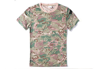 China CP Camouflage Tactical T Shirts Military Style For Outdoor Combating factory