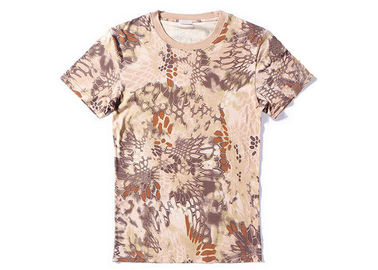 China Mandrake Cool Tactical T Shirts Army Style Quick Drying Short Sleeve For Unisex factory
