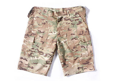 China Summer Tactical Quick Dry Cargo Shorts , Cool Camo Cargo Shorts For Men distributor
