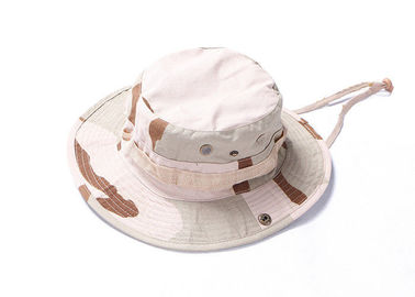 China Army Tactical Cap Boonie 3 Color Desert With  A fabric Tape Band factory
