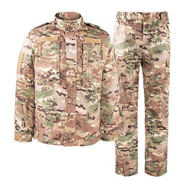 China CP Color Camouflage Military Combat Uniform Design Your Own Lengths And Sizes factory